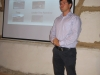 Stoyan making a presentation